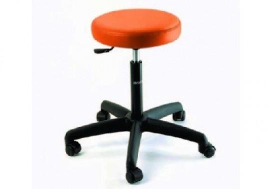 hocker holz mit gepolsterter ledersitzfl che 45 cm farbe bordeaux. Black Bedroom Furniture Sets. Home Design Ideas